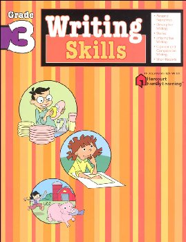 Writing Skills Grade 3 (Flash Kids Harcourt Family Learning)