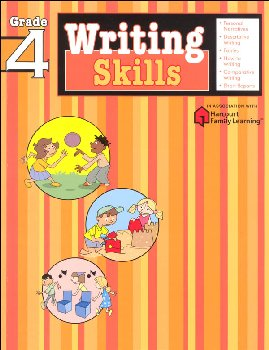 Writing Skills Grade 4 (Flash Kids Harcourt Family Learning)