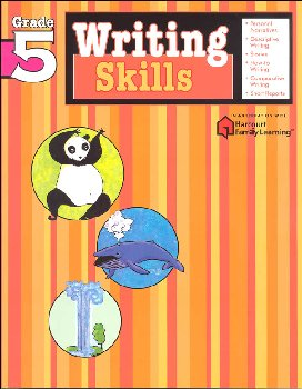 Writing Skills Grade 5 (Flash Kids Harcourt Family Learning)