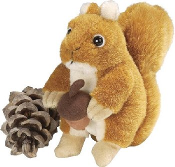 Wild Republic: Red Squirrel Plush