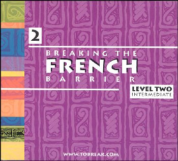 Breaking the French Barrier - Level 2 (Intermediate) Audio CD Set