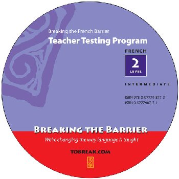 Breaking the French Barrier - Level 2 (Intermediate) Teacher Tests (disc)