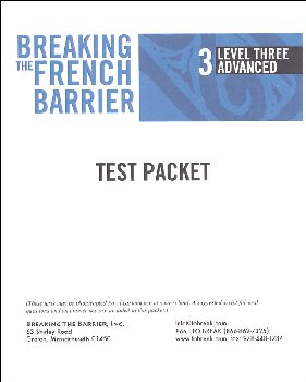 Brkng French Barrier-L3(Adv)Tch Tst Pkt(prnt)
