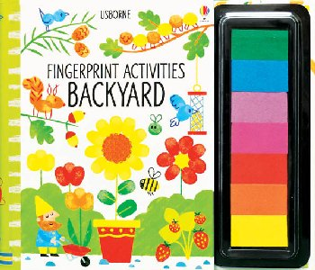 Fingerprint Activities - Backyard (Usborne)
