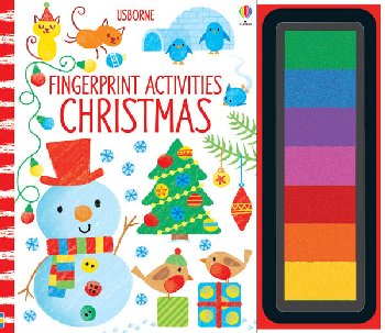 Fingerprint Activities - Christmas (Usborne)