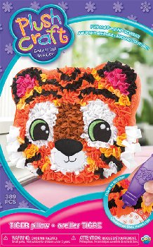 PlushCraft Tiger Pillow