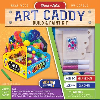 Art Caddy Build & Paint Kit