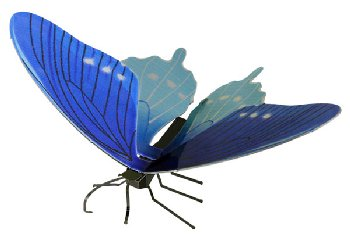 Pipevine Swallowtail Butterfly (Metal Earth 3D Model Kit)