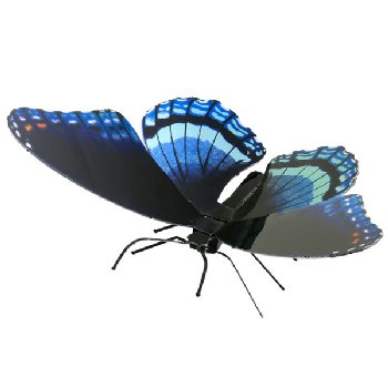 Red Spotted Purple Butterfly (Metal Earth 3D Model Kit)