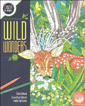 Color By Number: Wild Wonders Book 2