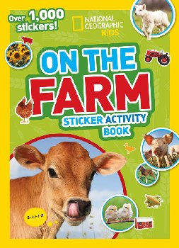 NG Kids On The Farm Sticker Activity Book