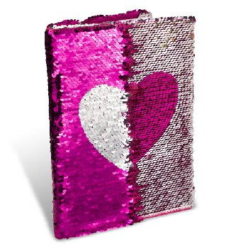 Heart Sequin Journal