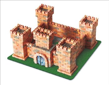 Wise Elk Construction Set - Dragon Castle 1080 Pieces