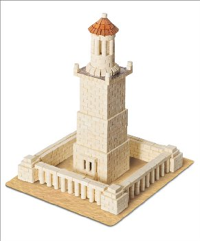 Wise Elk Construction Set - Lighthouse of Alexandria 970 Pieces