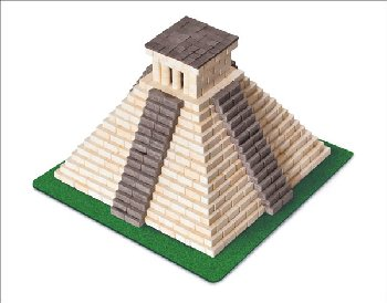 Wise Elk Construction Set - Mayan Pyramid 750 Pieces