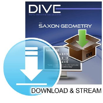 DIVE Download & Stream Saxon Geometry 1st Edition