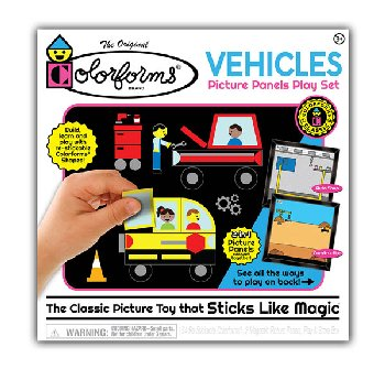 Classic Colorforms - Vehicles