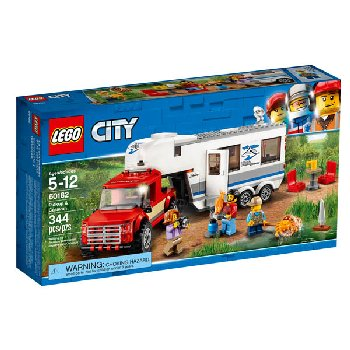 LEGO City Great Pickup & Caravan (60182)
