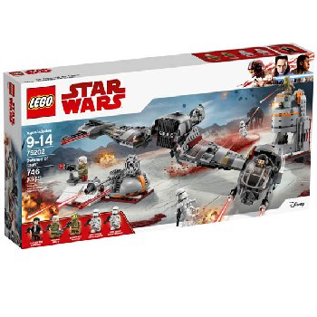 LEGO Star Wars Defense of Crait (75202)