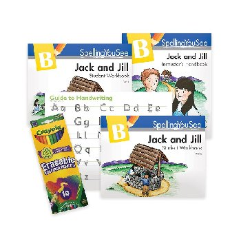 Spelling You See Level B: Jack & Jill Universal Set