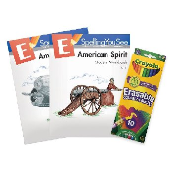 Spelling You See Level E: American Spirit Student Pack