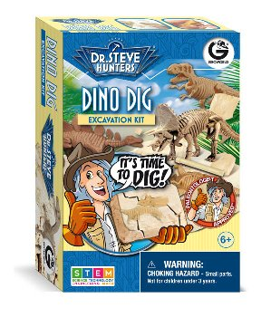 Dino Dig Excavation Kit (Assorted Dinosaurs)