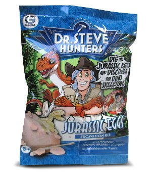 Jurassic Dino Eggs Excavation Kit (Assorted Dinosaurs)