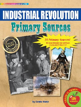 Industrial Revolution Primary Sources