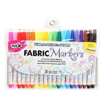 Tulip Fabric Markers - Fine Tip (Set of 20)