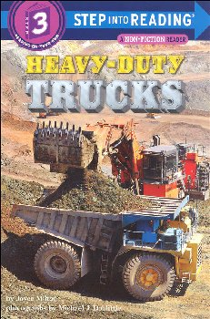 Heavy-Duty Trucks (Step into Reading Level 3)