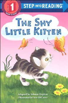 Shy Little Kitten (Step into Reading Level 1)