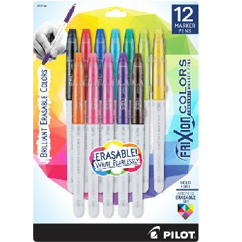Frixion Colors Bold Point Marker Pens (12 pk)