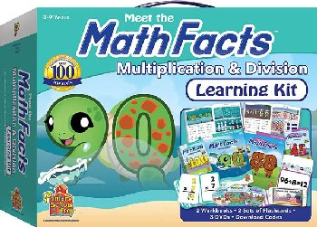 Meet the Math Facts Multiplication & Division Learning Kit