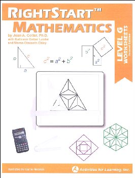 RightStart Mathematics Level G Worksheets (2nd edition)