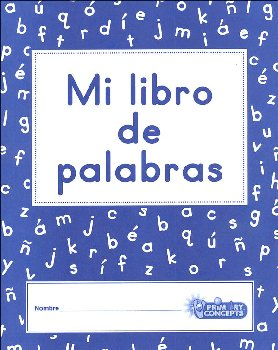 Mi libro de palabras (My Word Book)