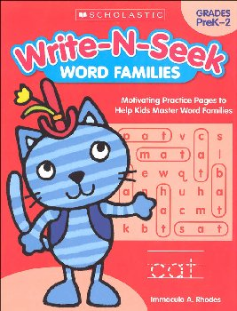 Write-N-Seek: Word Families