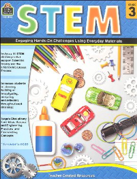STEM: Engaging Hands-On Challenges Using Everyday Materials - Grade 3