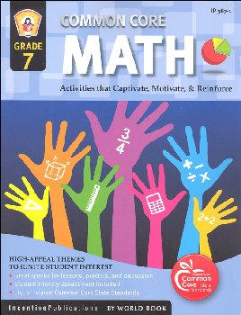 Common Core Math Activities Grade 7