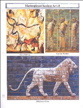 Classical Approach Masterpiece Lesson Cards II Ancient Egypt, Greece, & Roman Art