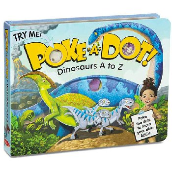 Poke-A-Dot! Dinosaurs A to Z