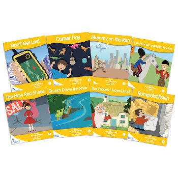 Fantail Readers: Fiction - Gold (set of 8) Reading Level 21-22, Guided Reading Level L-N