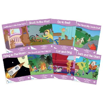 Fantail Readers: Fiction - Lilac (set of 8) Reading Level 1, Guided Reading Level A