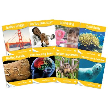 Fantail Readers: Non-Fiction - Gold (set of 8) Reading Level 21-22, Guided Reading Level L-N