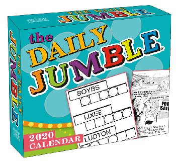 Daily Jumble 2020 Boxed Daily Calendar