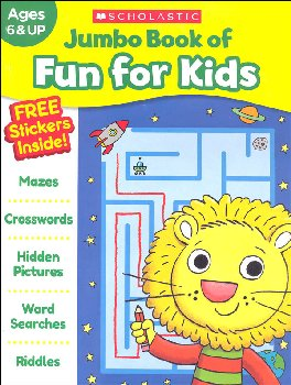 Jumbo Book of Fun for Kids