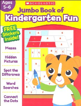 Jumbo Book of Kindergarten Fun