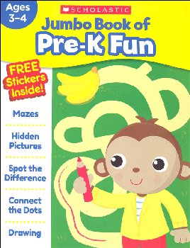 Jumbo Book of PreK Fun