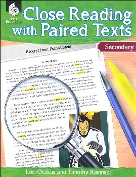 Close Reading With Paired Texts Secondary