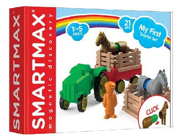 SmartMax My First Farm Tractor (21 pieces)