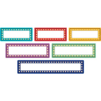 Clingy Thingies Labels & Mini Labels - Marquee